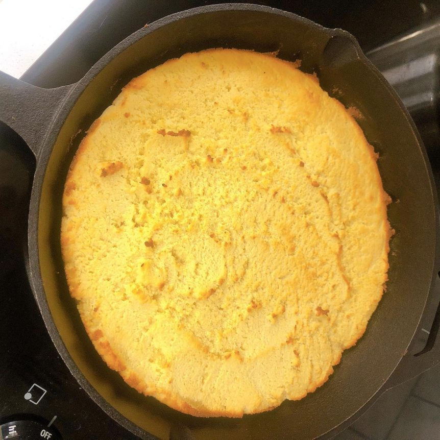 low carb cornbread