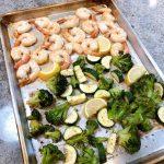 sheet pan shrimp